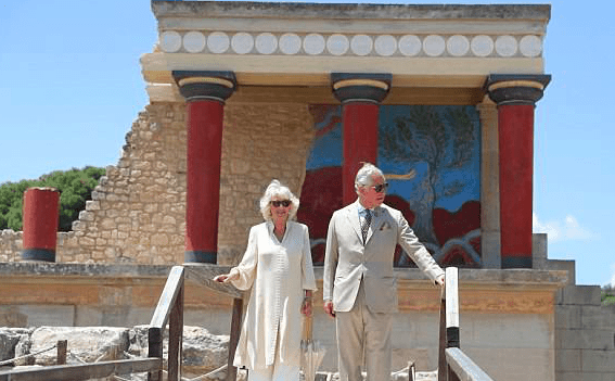 Prince Charles in Greece
