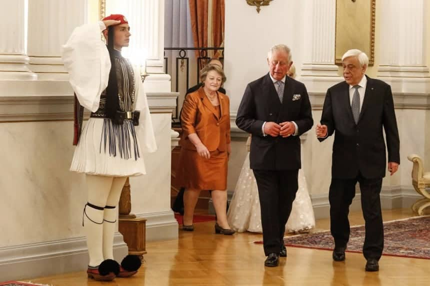 Greece welcomes Prince Charles and calls for return of ...