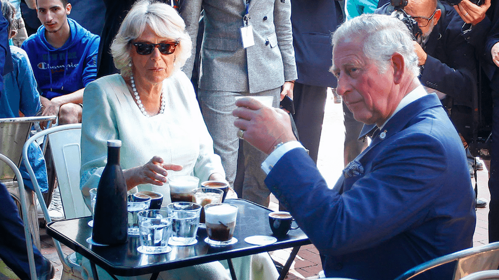 """We are all Greeks"" says Prince Charles as he embraces his Greek ties 1"