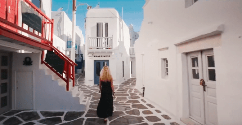 American Dance Music Producer and DJ features Greece in his new