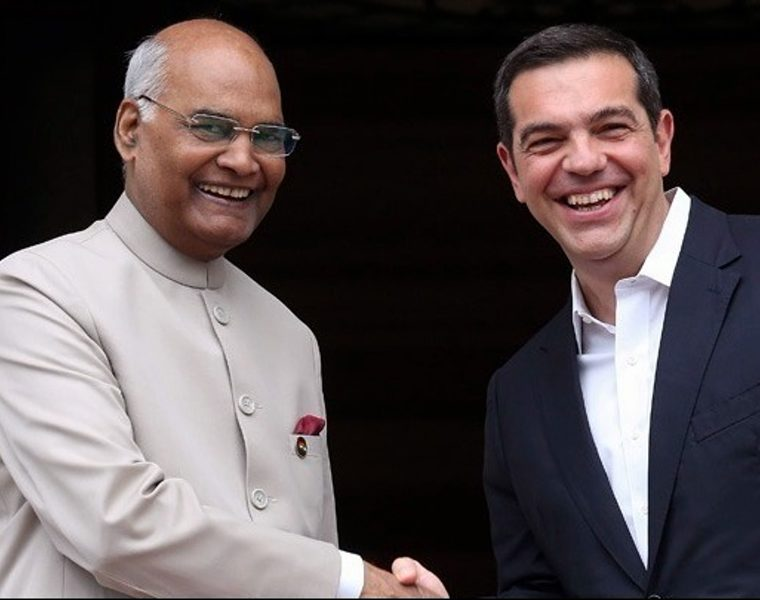 Tsipras and Indian President