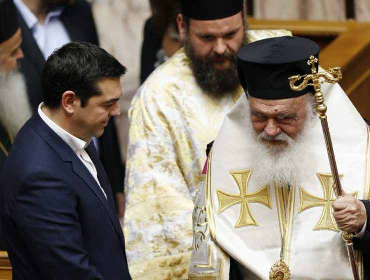 Greek PM Greek Church