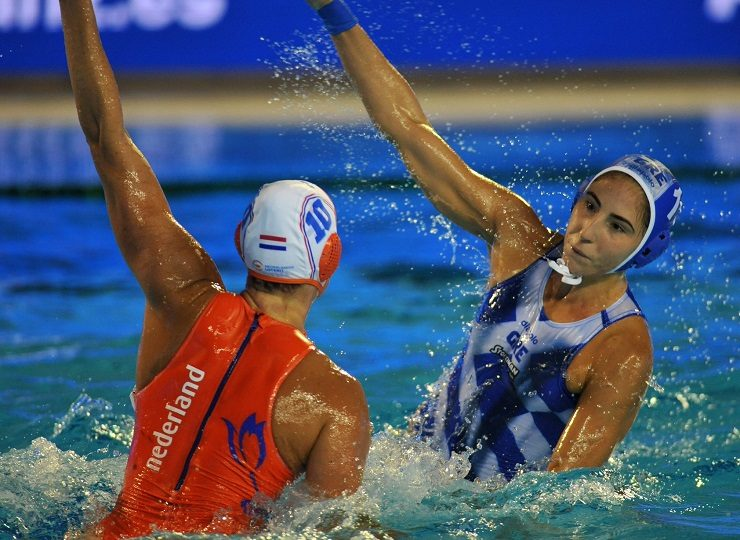 water polo greek team women
