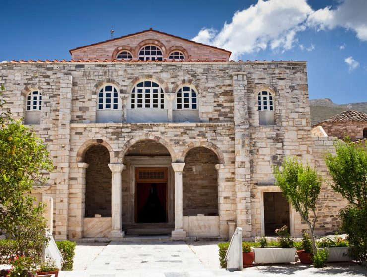 Paros church