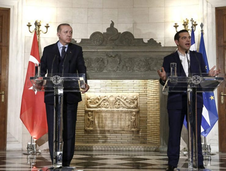 Tsipras to meet Erdogan at Nato Summit on Thursday 9