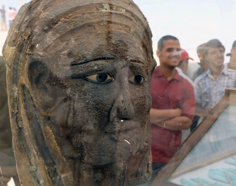 Amazing mummification workshop Discovered in Egypt   6