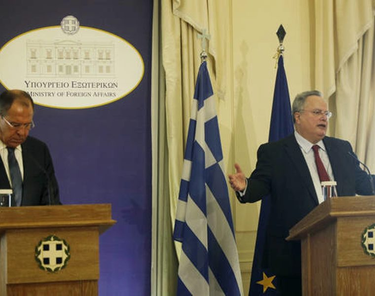Greece sends message to the East and West about sovereignty: Kotzias 15
