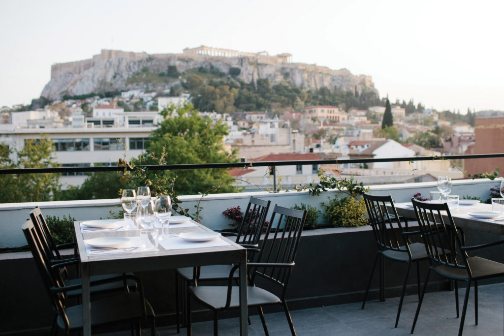 Athens' Rooftop Garden Bar with the finest View 2
