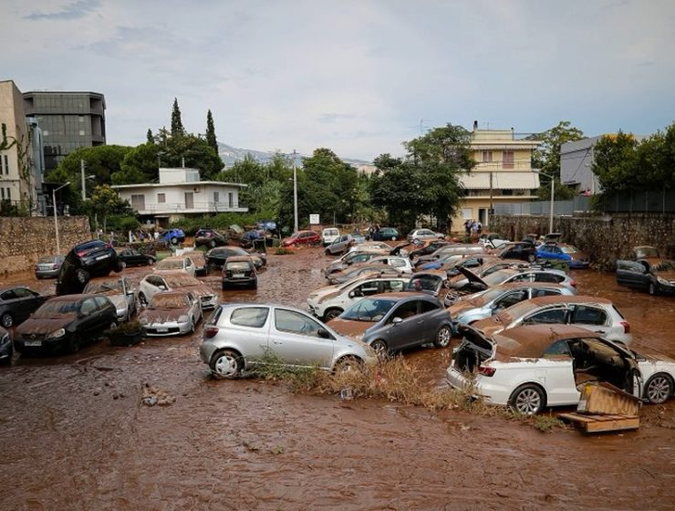 Serious Flooding after Heavy Rain in Athens 4
