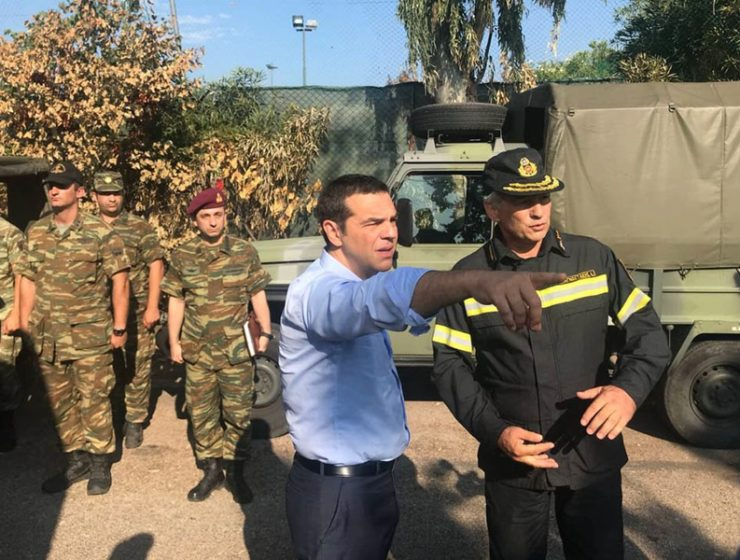 PM Tsipras visits grieving Mati, a week after tragic wildfires 18
