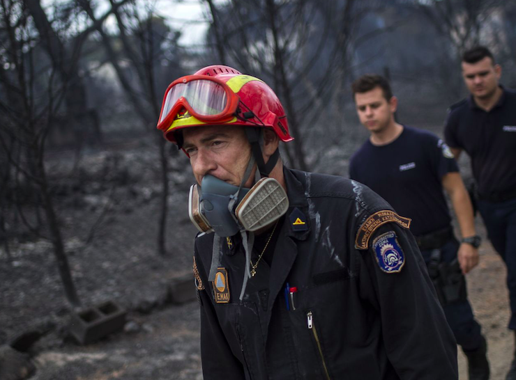 Australia is prepared to help Greece in the aftermath of its deadly wildfires 10
