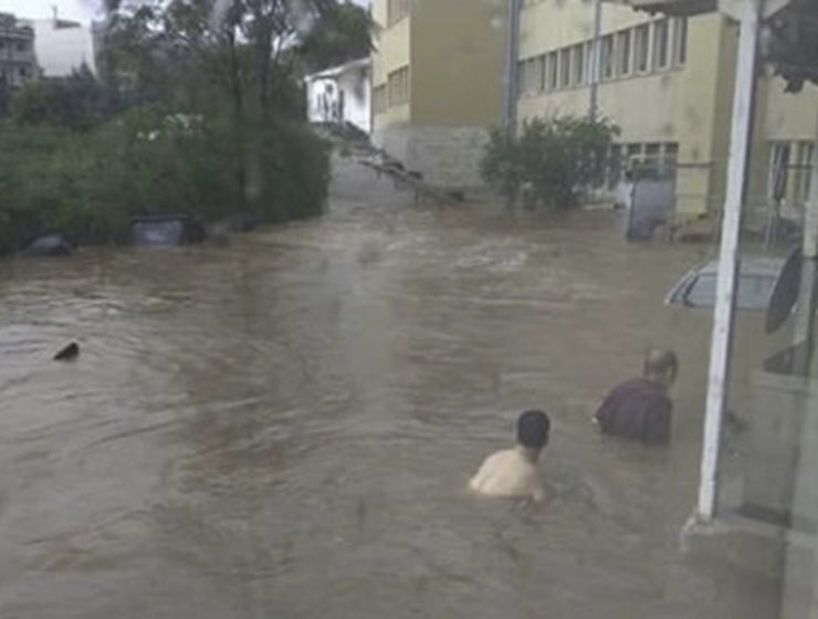 Heavy storms and floods hit Athens 17