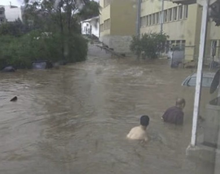 Heavy storms and floods hit Athens 14
