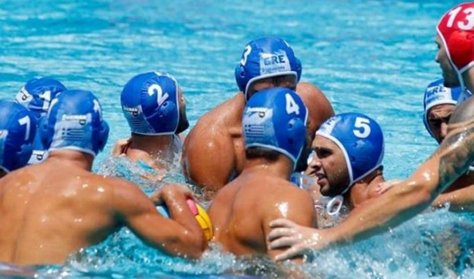 Greek men's water polo team