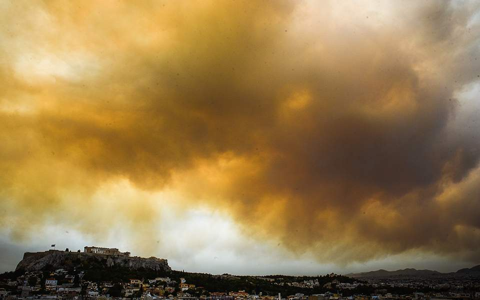 Athens fires