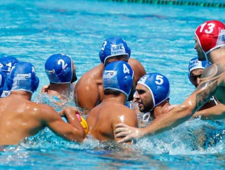 Greek mens water polo
