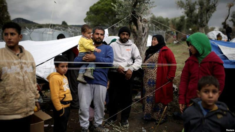 New request for migrants to be moved from Aegean islands 2