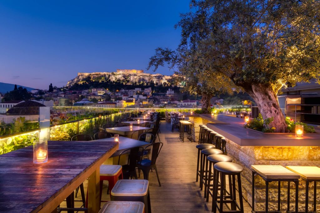 Top 8 Rooftop Bars and Restaurants in Athens 5