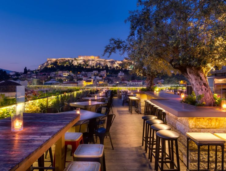 Top 8 Rooftop Bars and Restaurants in Athens 42