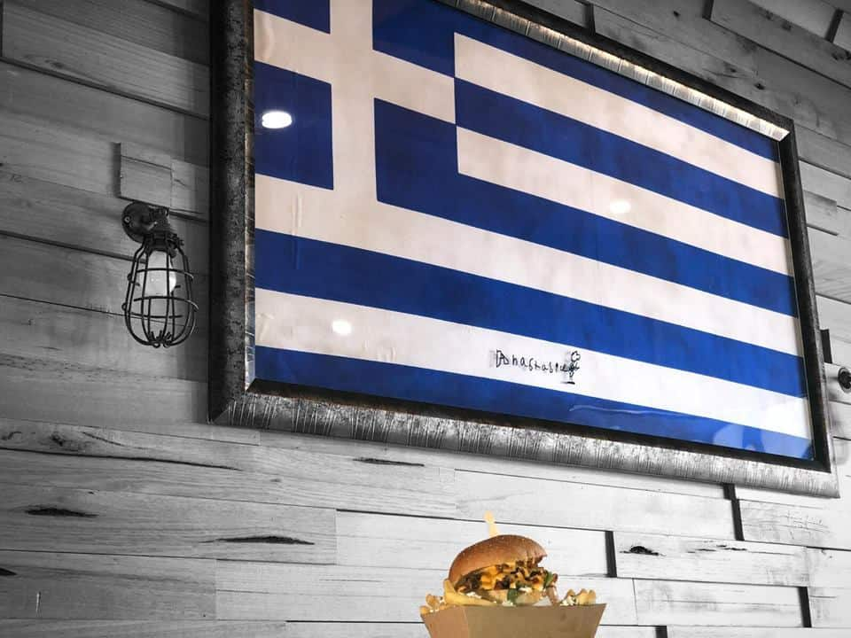 Greek take on American Cheeseburger becomes a Sydney food hit 5