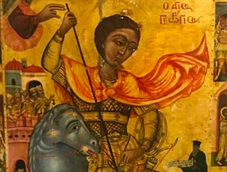 Icon of St George stolen during Turkish invasion to be returned home to Cyprus 15