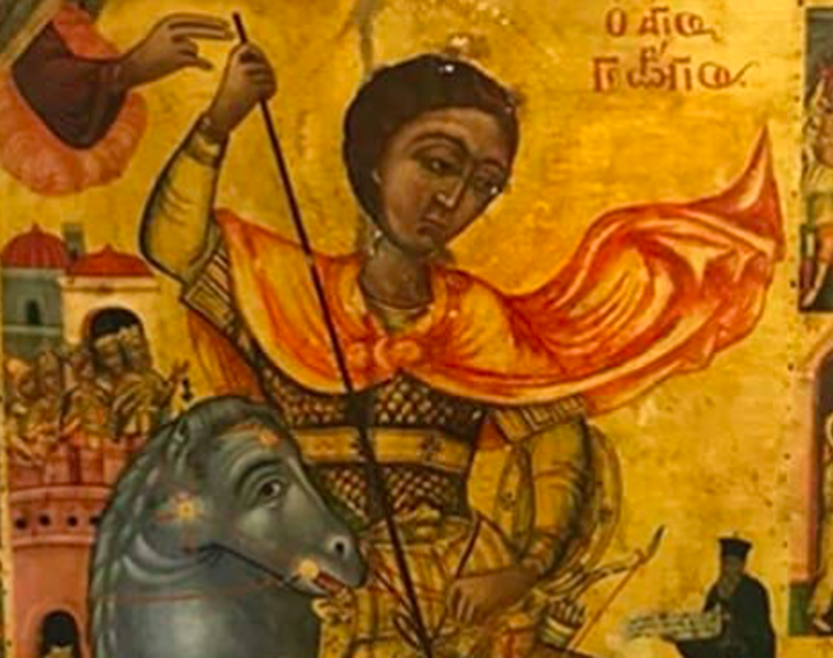 Icon of St George stolen during Turkish invasion to be returned home to Cyprus 14