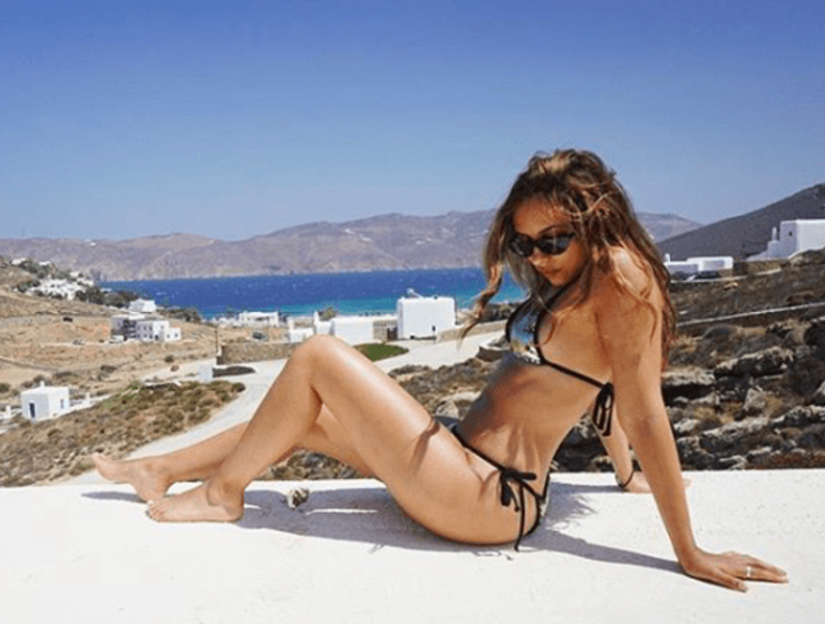Little Mix's Jade Thirlwall, Perrie Edwards and Leigh-Anne Pinnock holidaying in Mykonos 24