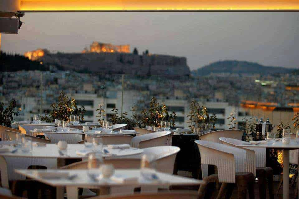 Top 8 Rooftop Bars and Restaurants in Athens 3