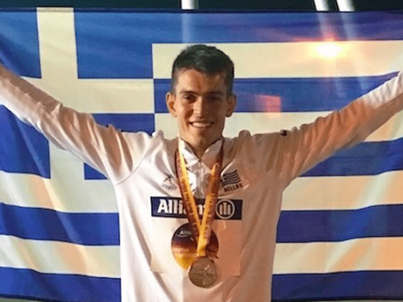Greek athlete told he would never walk again wins Silver at Para Athletics  Championships - Greek City Times