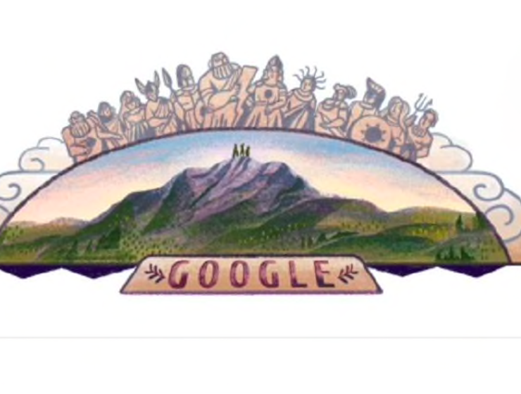 Greece's Mount Olympus honoured with a Google Doodle today 10