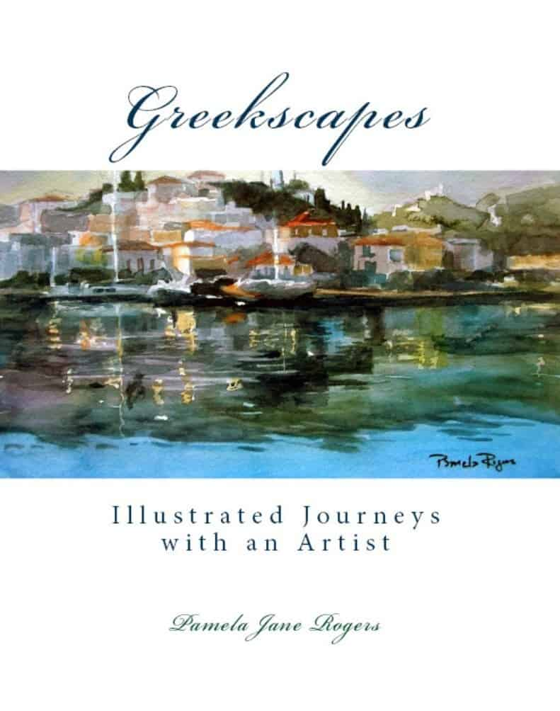 How an acclaimed artists' love of Greece led her to calling Poros home 3