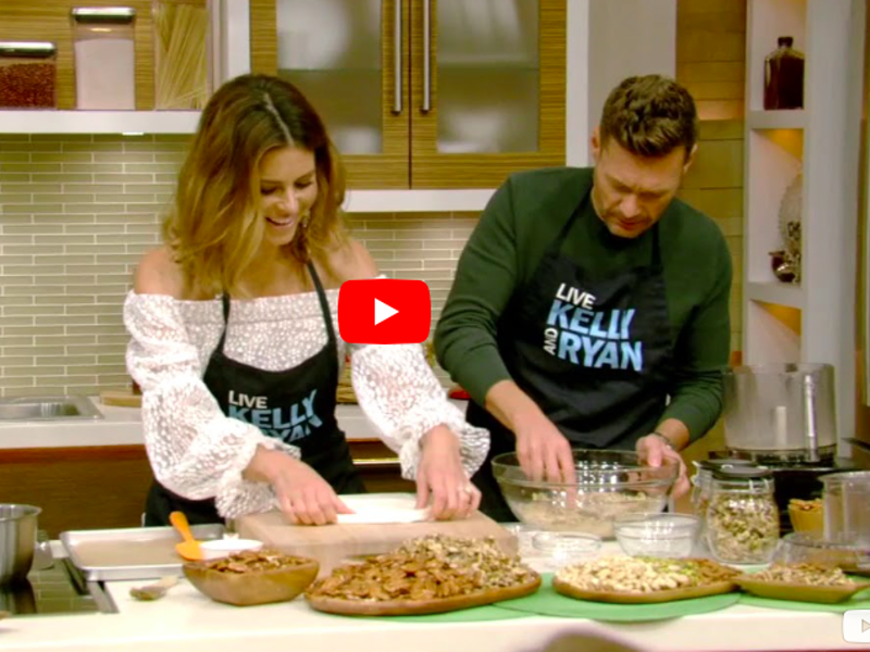 Maria Menounos shares her mum's Baklava recipe on popular American Talkshow (VIDEO) 1
