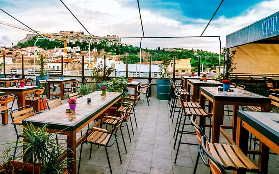 Top 8 Rooftop Bars and Restaurants in Athens 4