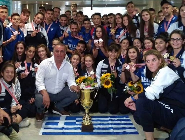 Greece's Taekwondo team bring home 37 medals from World Championship 10