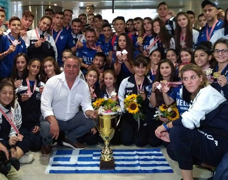 Greece's Taekwondo team bring home 37 medals from World Championship 9