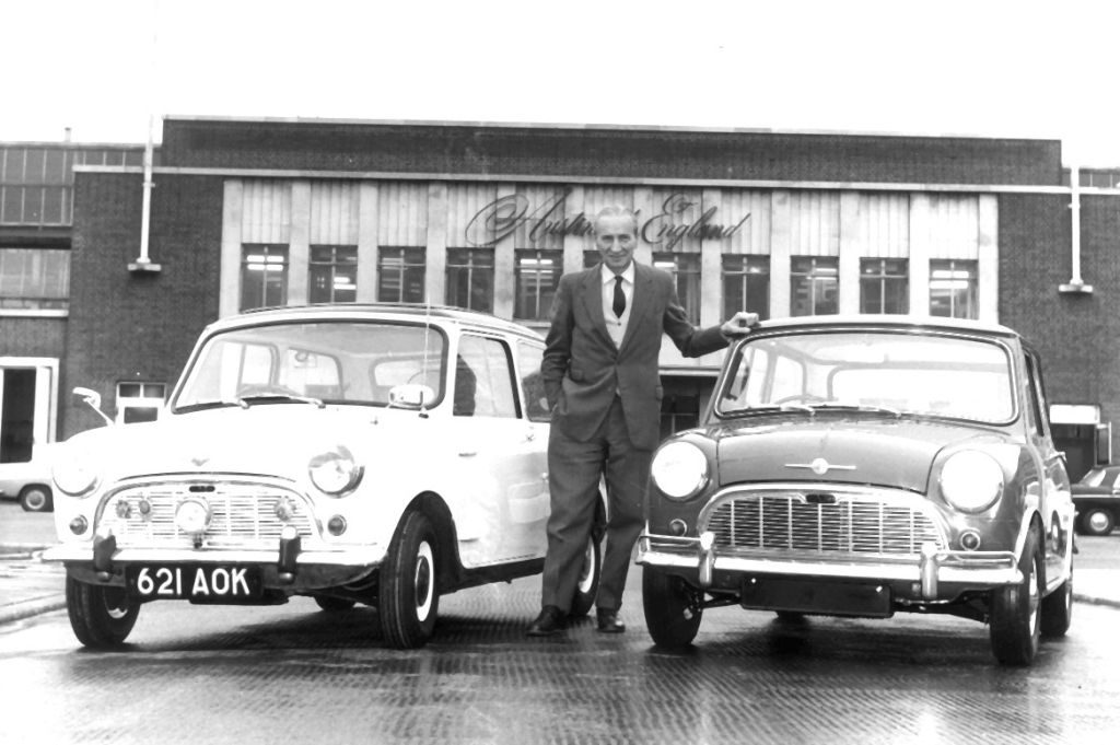 Car Designer   On This Day In 1959 Mini Cooper Is Launched By Greek Car Designer