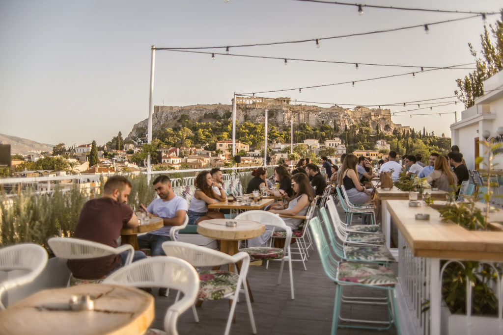 Top 8 Rooftop Bars and Restaurants in Athens 8
