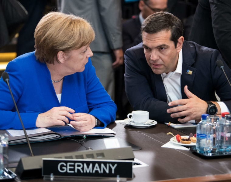 Greece and Germany reach deal to return migrants 23