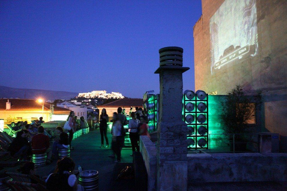Top 8 Rooftop Bars and Restaurants in Athens 2