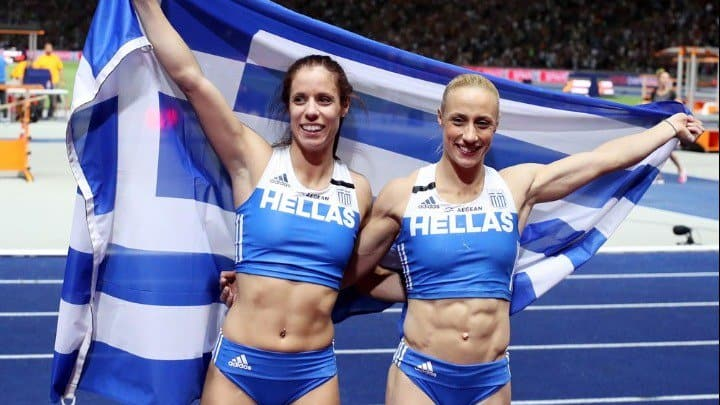 Stefanidi wins Gold and Kyriakopoulos silver at European Championship 3