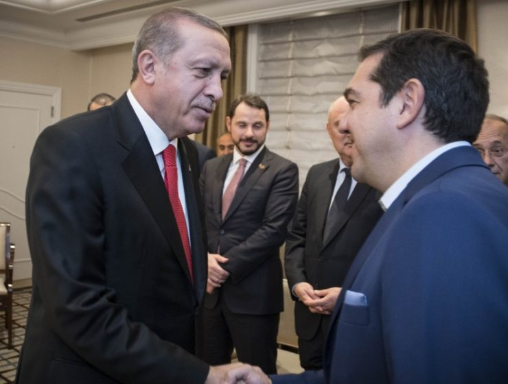 Greek PM discussed Cyprus problem and Aegean with Erdogan 5