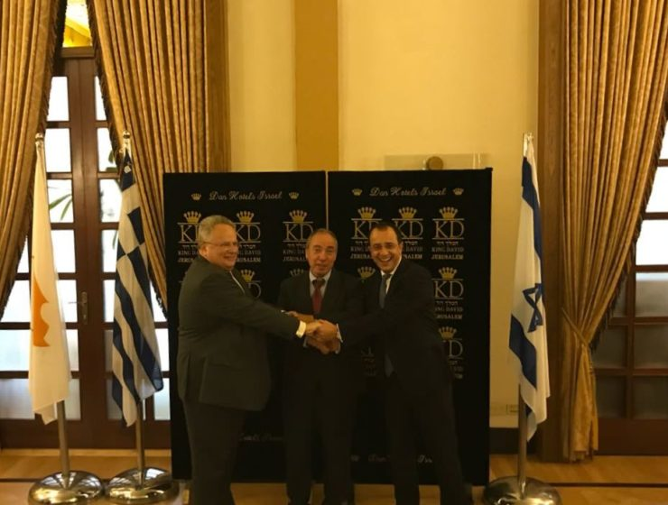 Greek Foreign Minister in Israel for Trilateral Meetings  7