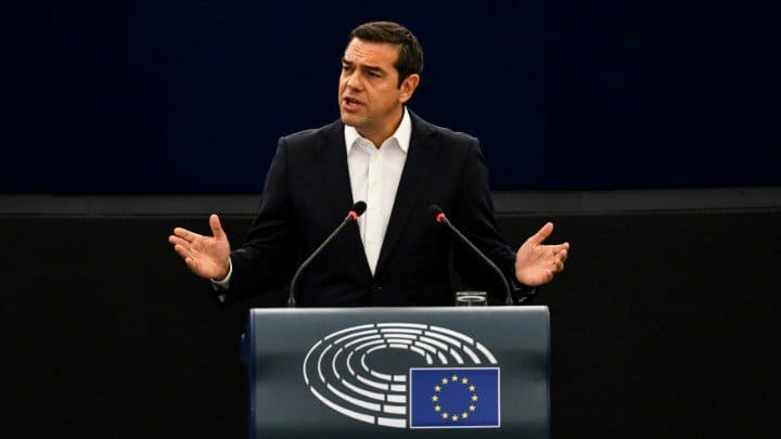 "Greece ""has made it"" says Greek PM as he addresses European Parliament 13"