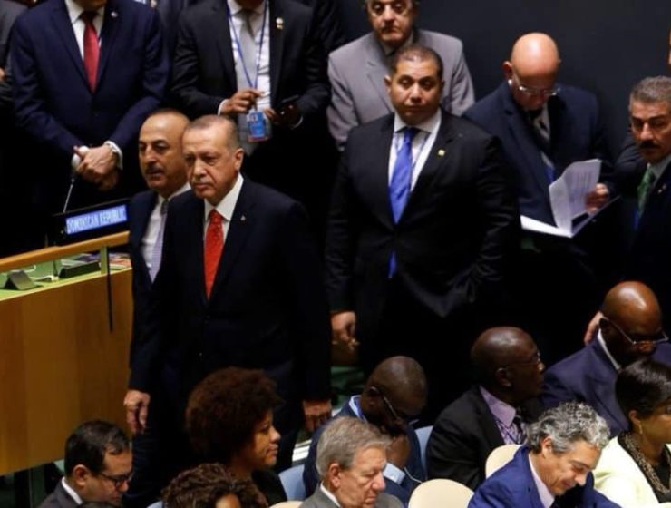 Erdogan walks off during Trump's speech at UN General Assembly in NY (VIDEO) 3
