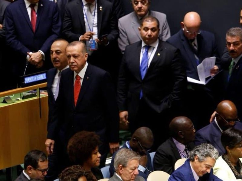 Erdogan walks off during Trump's speech at UN General Assembly in NY (VIDEO) 1