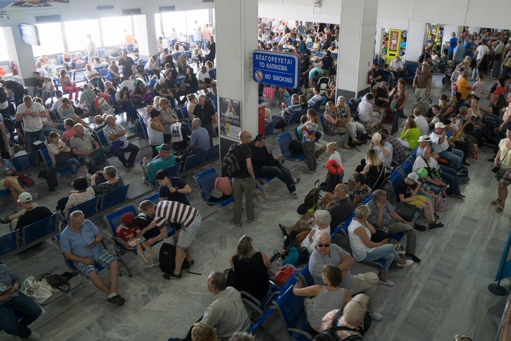 Greek airport