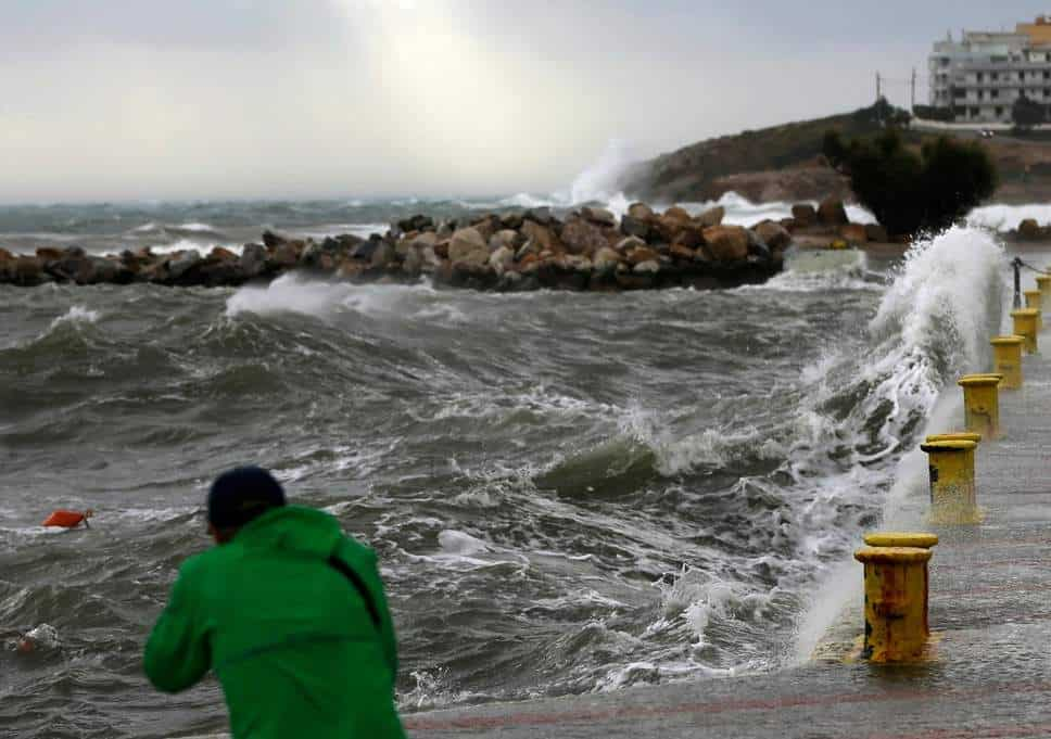 Greece's civil protection services on high alert as tropical-like cyclone is expected 12