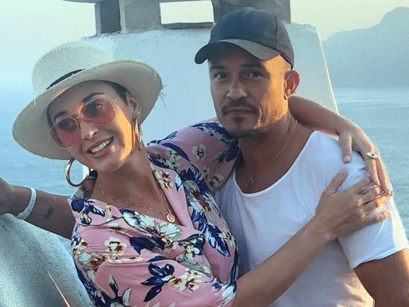 Katy Perry on a romantic getaway with Orlando Bloom in Corfu 1