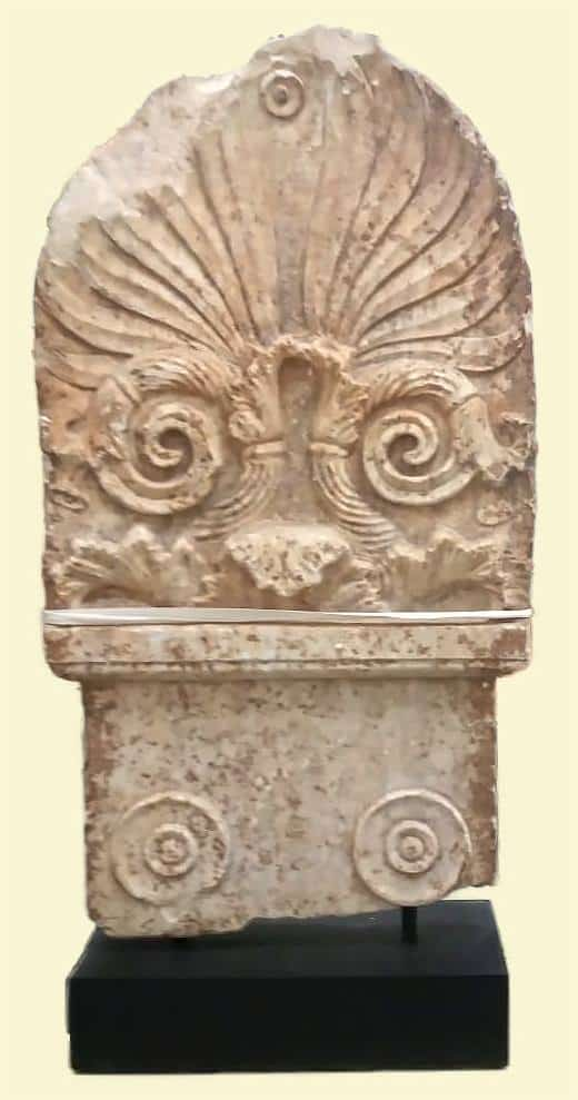 Greek tombstone