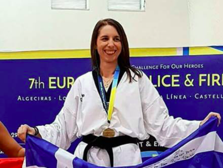 Greek mother of four wins Gold at Taekwondo Pan-European Championship 9